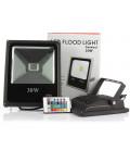 Светодиодный прожектор RGB 220 В, 30 Вт , COB, SLIM, IP65