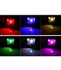 Светодиодный прожектор RGB 220 В, 20 Вт , COB, SLIM, IP65