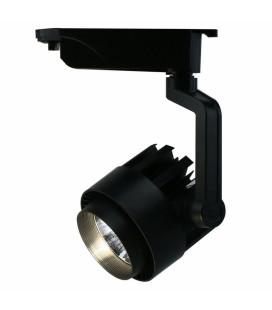 Трековый светильник - Spotlight, однофазный, Модерн, 220 В, 30 Вт, черный