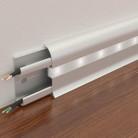 Плинтус светодиодный 65х24 мм