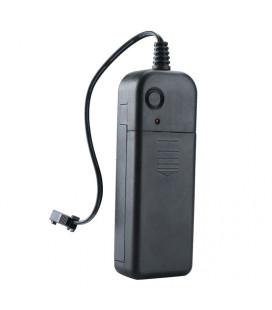 Портативный контроллер для подключения EL провода (тонкого гибкого неона) от батарейки