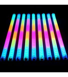 Светодиодная трубка SPI - RGB, полупрозрачная, 36 диодов, 6 dpi, IP65, 100 см