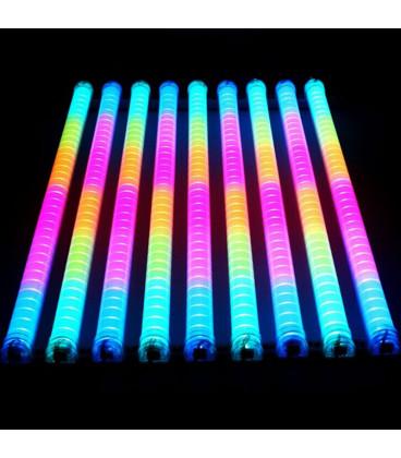 Светодиодная управляемая трубка SPI - RGB, 36 диодов, 6 пикселей, IP65