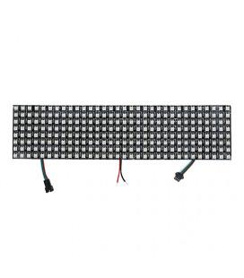Светодиодная управляемая гибкая панель SPI , цвет: RGB, 8х32, 256 пикселей,WS2812