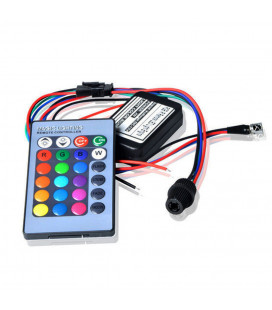 RGB - Источник света для оптоволокна, ИК, Мини, D 6mm, 2 Вт, 12 В