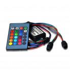 RGB - Источник света Х2 для оптоволокна ИК, Мини, D 6 мм, 4 Вт, 12 В