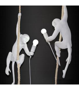 "Seletti 14883 Ceiling MONKEY подвесной светильник ""Обезьянка на канате"""