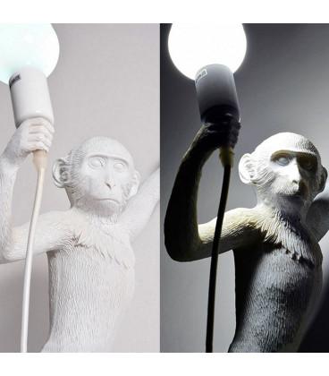 "Seletti 14881 hanging MONKEY настенный светильник ""Обезьянка с лампочкой"""