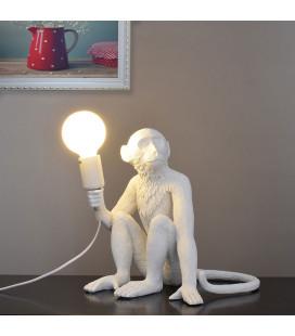 """Sitting MONKEY-14882 светильник настольный """"Обезьяна с лампочкой"""""""
