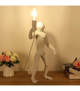 """Standing MONKEY-14880 sсветильник настольный """"Обезьянка с лампочкой, в полный рост"""""""