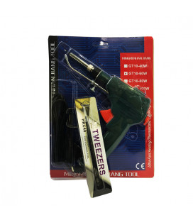 Паяльник-пистолет 60 Вт с автоматической подачей припоя