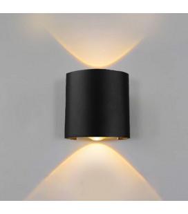 Светильник «Полусфера», 2 Вт, настенный, влагозащищенный IP65