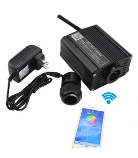 RGBW Источник света для оптоволокна, Wi-Fi, D 20 мм, 220 В, 16 Вт