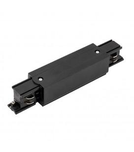 I коннектор для шинопровода трека 4 контакта, 3 фазы, черный