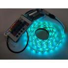 RGB Светодиодная лента 5050, 60 д/м, бокс для батареек