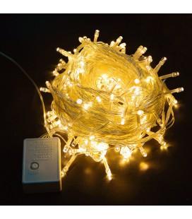 Светодиодная гирлянда бахрома,  220 вольт, 5*0,8 метров, 216 диодов