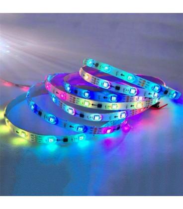 Светодиодная лента с авточипом RGB