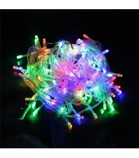 """Светодиодная гирлянда """"Нить"""", 220 вольт, 10 метров,100 диодов, RGB"""