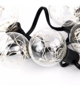 Лампа светодиодная G40, 3.5 В, белый теплый, для Белт-Лайт