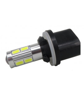 Авто LED лампа в противотуманные фары тип: SMD 5630 +линза 880(H27) 10 Ватт
