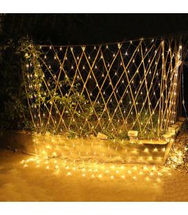 Светодиодная гирлянда сетка, 220 вольт, 2x2 м, 144 диодов, соединяемая