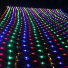 Светодиодная гирлянда сетка, 220 вольт, 3x3 м, 300 диодов, соединяемая
