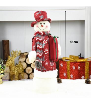 Настольная кукла Снеговик, 45 см
