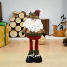 Кукла с выдвижным механизмом 40 см, Дед Мороз