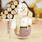 Фигурка Снеговик с табличкой, 40 см