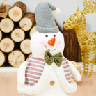 Фигурка Снеговик с бабочкой, 40 см