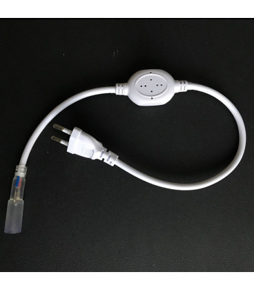 Вилка для круглого Дюралайта AC 220 В, 2-PIN