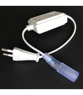 Вилка-контроллер для дюралайта круглого d11 мм, AC 220 В