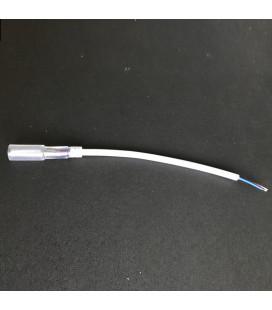 Коннектор соединительный для дюралайта круглого, d11 мм, 2-PIN