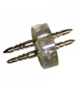 Соединитель внутренний 2-Pin для дюралайта круглого d11 мм