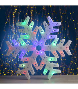 Светодиодная Новогодняя снежинка