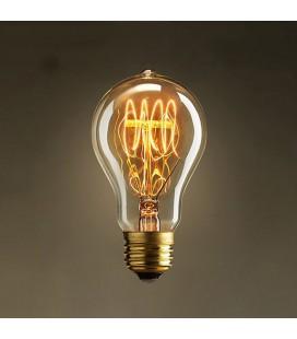 "Лампа эдисона ""груша"" А60, Е27"