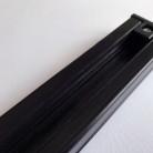 Шинопровод - 3-х контактный, однофазный, белый черный, 150 см
