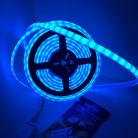 Светодиодная лента SMD 2835, 120 диодов/метр, термостойкая , 12 В, цвет: RGB, IP68