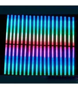 Управляемая трубка SPI - RGB, алюминии, матовая, 36 диодов, 6 пикселей, IP65