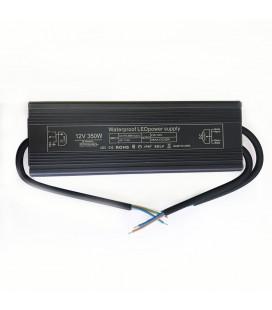 Блок питания, 12В DC, 350 Вт, алюминиевый, Slim compact , IP67