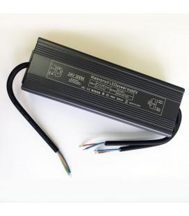 Блок питания, 24В DC, 300 Вт, алюминиевый, Slim сompact , IP67
