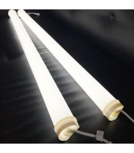 Светодиодная трубка круглая, цвет белый, 24В, 60 диодов, матовая, IP65