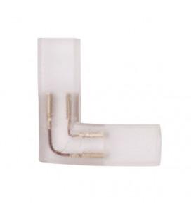 Угловой коннектор 2 контакта, пин 6-8 мм