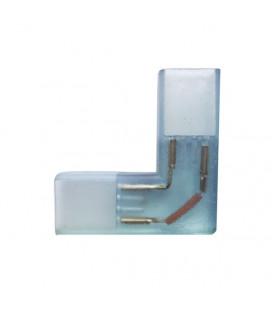 Угловой коннектор 2 контакта, пин 10-12 мм