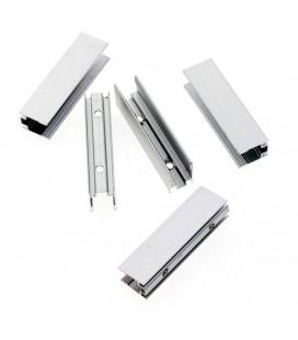 Крепеж для неона 8х14, 8х16, 10х20, 10х21 мм. алюминиевый
