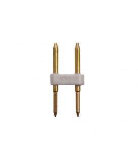 Пин коннектор, 2 контакта, 7-8 мм