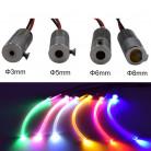 Источник света для оптоволоконного кабеля, (D 3mm) , 12 в, цвет белый