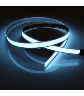 EL гибкая неоновая лента 13 мм, с разъемом для подключения, 2 метра