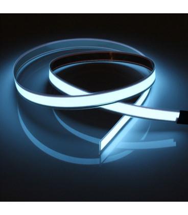 EL гибкая неоновая лента 13 мм, с разъемом для подключения