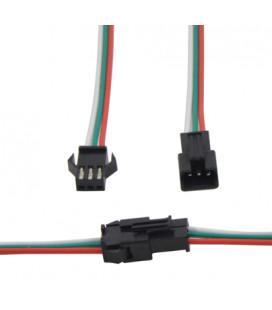 Разъем SPI 3 pin с проводом 15 см, пара мама-папа